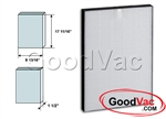 Sharp Non-OEM HEPA FZ-C100HFU HEPA Air Purifier Filter by GoodVac