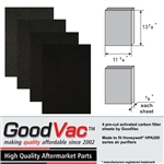 Carbon Pre-filter for HPA200 by GoodVac (4 Pack)