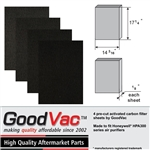 Carbon Pre-filter for HPA300 by GoodVac (4 Pack)