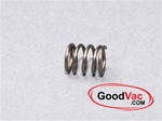 Kirby cord hook spring