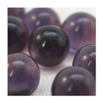 14mm Transparent Dark Amethyst Marbles 1 lb Approximately 120 Marbles