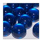 14mm Transparent Aqua Marbles 1 lb Approximately 120 Marbles