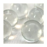 14mm Transparent Clear Marbles 1 lb Approximately 120 Marbles