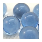 14mm Transparent Periwinkle Marbles 1 lb Approximately 120 Marbles