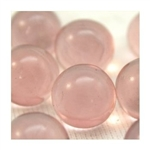 14mm Transparent Light Pale Pink Marbles 1 lb Approximately 120 Marbles