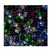 *16mm Assortment Crystal/Transparent Player Marbles 1 lb Approximately 85 Marbles