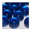 16mm Crystal Dark Aqua Player Marbles 1 lb Approximately 85 Marbles