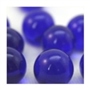 16mm Crystal Dark Blue Player Marbles 1 lb Approximately 85 Marbles