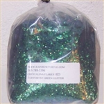 Glitter Crystalina LARGE FLAKES Forest Green 1-lb 362 .125