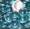 GR Clear 11mm Micro Round Marbles 44 lbs GREEN TINT