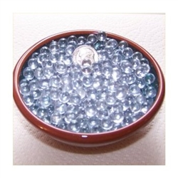 Clear 6mm No Hole Glass Deco Beads Mini Marbles 1 lb Approx 1,608 Beads/Marbles