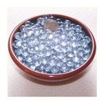 Clear 7mm No Hole Glass Deco Beads Mini Marbles 1 lb Approx 1,012 Beads/Marbles