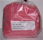 Glitter Pearl Flakes Baby Pink 1-lb 3272025
