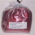 Glitter Polyester Fine  Apple Red 1-lb P7008HX