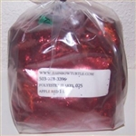 Glitter Polyester Flakes  Apple Red 1-lb P7025HX