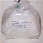 Glitter Polyester Flakes Clear 1-lb P0025HX