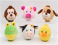 "5"" SIX ANIMALS COINBANK WITH SOUND AND LIGHTS(6)"