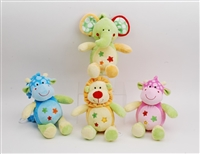 "11"" ANIMALS LULLABY MUSICAL (4)"