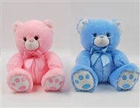 "9"" CORINN BEAR IN PINK AND BLUE (2)"
