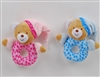 "6"" BLUE AND PINK BEAR BABY RATTLE (2)"