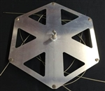 Hexagon Plate Anode Array