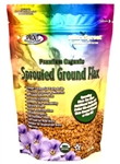 Golden organic sprouted flax