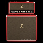 Dr. Z 1x12 Cab w/ Celestion Vintage 30 in Red with Tan Grill