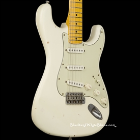 Nash Guitars S-57 Light Distress in Olympic White