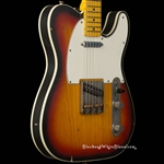 Nash Guitars TC-63 Light Distress in 3-Tone Sunburst
