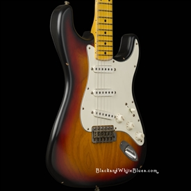 Nash Guitars S-63 Light Distress in 3-Tone Sunburst