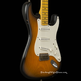 Nash Guitars S-57 Light Distress in 2-Tone Sunburst