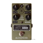 Alexander F.13 Flanger Pedal in Army Green