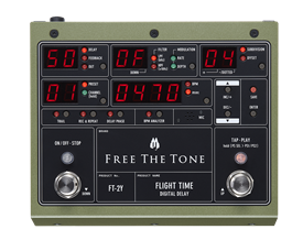 Free The Tone Flight Time FT-2Y Digital Delay Pedal