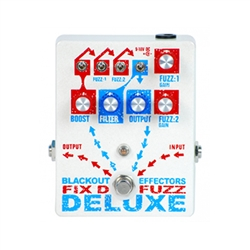 Blackout Effectors Fix'D Fuzz Deluxe Fuzz Pedal