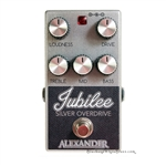 Alexander Jubilee Silver Overdrive Pedal