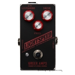 Greer Amps Lightspeed Organic Overdrive Pedal in Gameday Black
