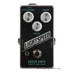 Greer Amps Lightspeed Organic Overdrive Pedal in Reverse Daphne