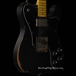 Nash Guitars TC-72 Light Distress in Black