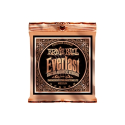 Ernie Ball 2544 Everlast Coated Phosphor Bronze Acoustic Strings