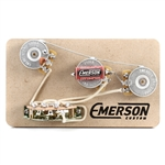 Emerson Custom Strat 5-Way Pre-Wired Kit (250K Ohm Pots & 0.047uf Capacitor)