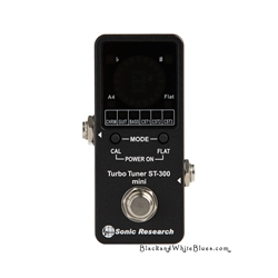 Sonic Research Turbo Tuner ST-300 Mini Tuner Pedal