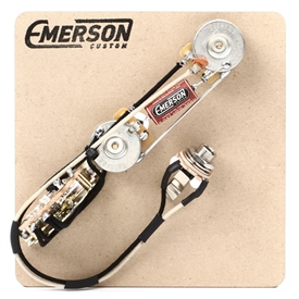 Emerson Custom Tele 3-Way Pre-Wired Kit (250K Ohm Pots & 0.047uf Capacitor)