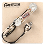 Emerson Custom Tele 3-Way Thinline Pre-Wired Kit (250K Ohm Pots & 0.047uf Capacitor)