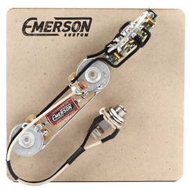 Emerson Custom Tele 4-Way Pre-Wired Kit (250K Ohm Pots & 0.047uf Capacitor)