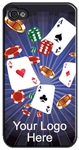 3D Lenticular iPhone Skin Las Vegas Casino Cards 3d