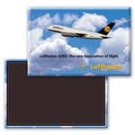 Lenticular Magnetic Rectangle with custom design Images