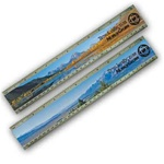 Lenticular ruler with Grand Teton National Park Image