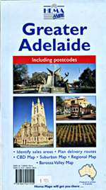 Adelaide, Australia, Greater by Hema Maps