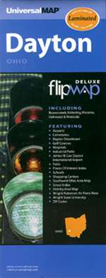 Dayton, Ohio, Flipmap Deluxe by Kappa Map Group