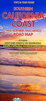 California Coast, Southern and Baja Mexico, Northern by Global Graphics
